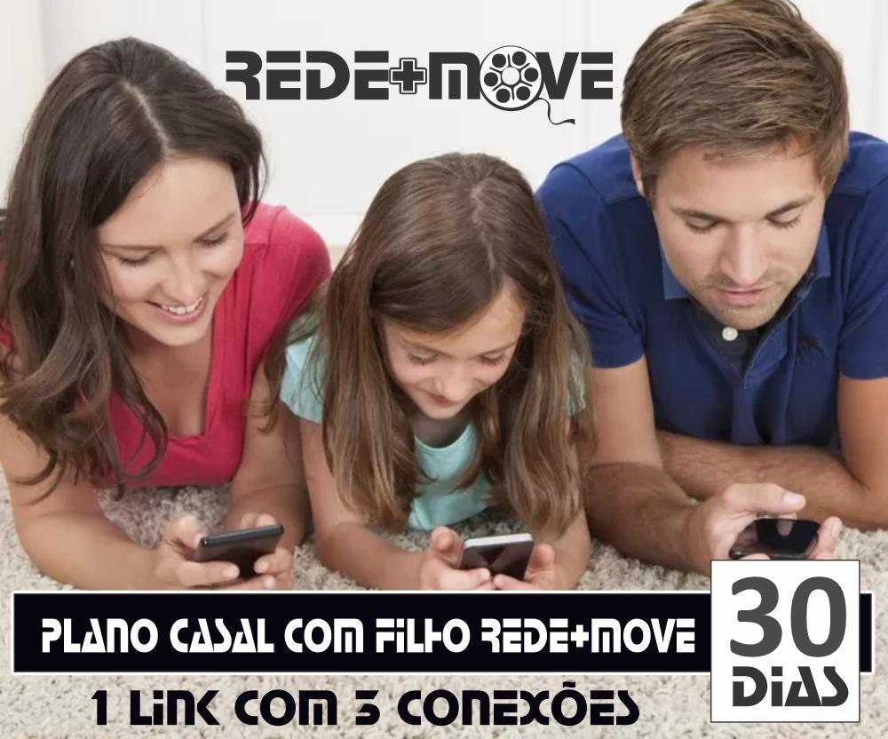 Rede+Move Plano Casal com Filho