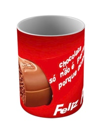 Caneca Pascoa - Chocolate
