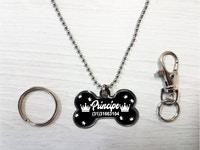 Pingente Personalizado p/ Cães Príncipe - Personalizado