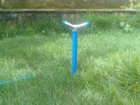 Aspersor de METAL para irrigação AR 25 ( 25cm) KIT com 08 pcs