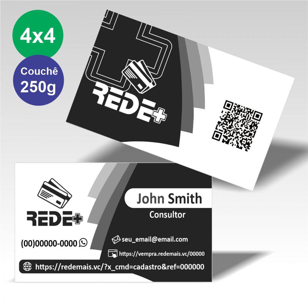Cartão Visita 500unid  - Modelo A