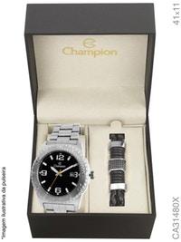 Kit Relógio Champion Masculino CA31480X