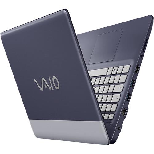 Notebook VAIO C14 VJC141F11X Intel Core i3 4GB 128SSD Tela LCD 14