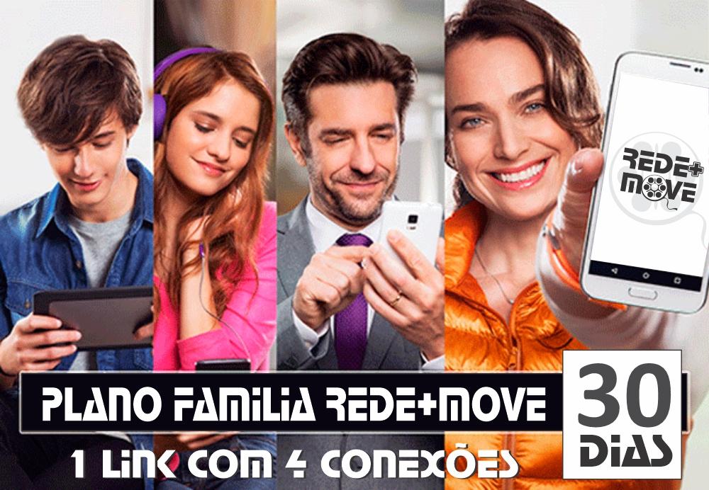 Rede+Move Plano Familia