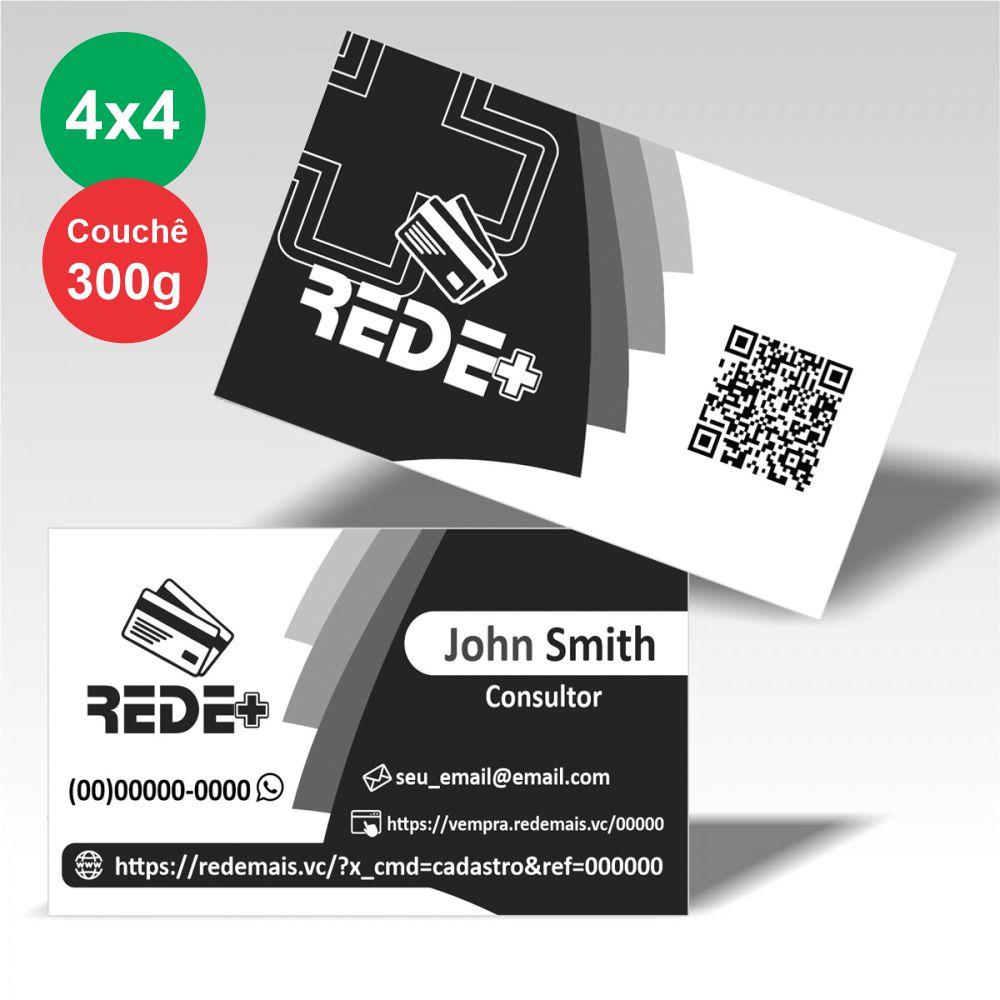 Cartão Visita 250unid  - Modelo A