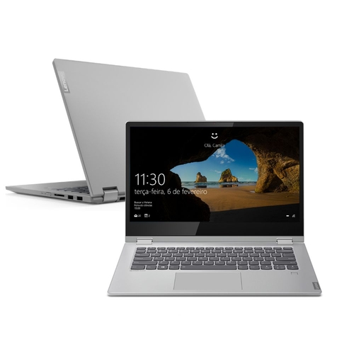 Notebook Lenovo 2 Em 1 Ideapad C340 I5-8265u 4gb 128gb Ssd Windows 10 14